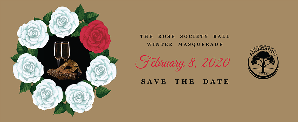 Rose Ball Society Save the Date for February 8, 2019